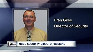 NCCC security director resigns after 7 Eyewitness News investigation