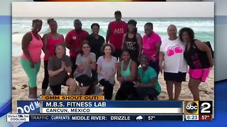 M.B.S. Fitness Lab in Cancun says Good Morning Maryland - Video