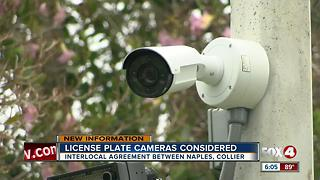 Naples working to get citywide license plate reading cameras