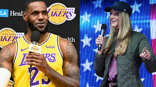 LeBron James Hilariously Clowns Kelly Loeffler After She Loses Her WNBA Team To Former Player