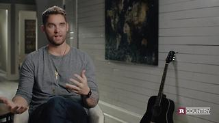 Brett Young on his sports injury | Rare Country - Video