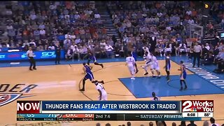Thunder fans react to Westbrook being traded