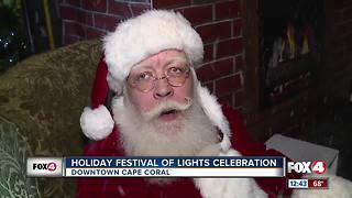 Holiday Festival of Lights Celebration - Video