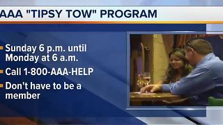 AAA offers Tipsy Tow for Super Bowl Sunday