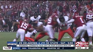 Bedlam #112: Lincoln Riley vs. Mike Gundy for first time - Video