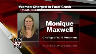 Woman charged in fatal East Lansing crash - Video