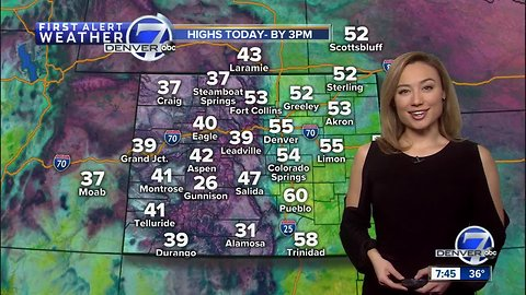 Milder Sunday, with snow on the way this week!