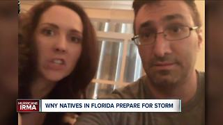 WNYers in Florida bracing for Hurricane Irma - Video