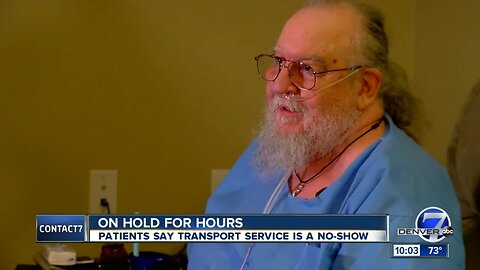 Greeley man says he's lucky to be alive after being stood up by medical transport