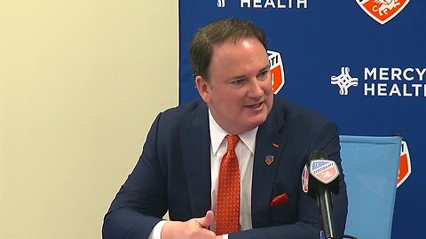 FC Cincinnati press conference on replacing Alan Koch