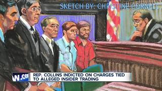 Rep. Collins speaks following indictment on insider trading charges - Video