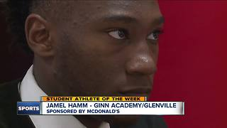 Student Athlete of the Week: Jamel Hamm - Video