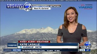 Clear, quiet and milder across Colorado this weekend