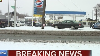 Body found at gas station