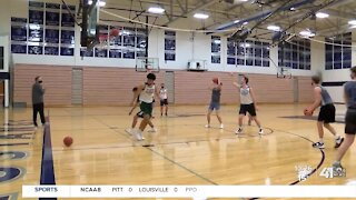Blue Valley North center scores Hy-Vee Athlete of the Week
