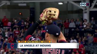 Indians take home win against LA Angels - Video