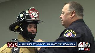 Safety class introduces those with disabilities to first responders - Video