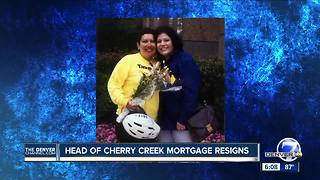 Head of Cherry Creek Mortgage resigns after lawsuit, policy change - Video