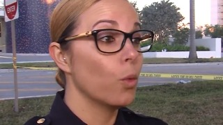 Sweetwater Police Sgt. Jenna Mendez among first people to help FIU bridge collapse victims - Video