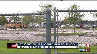 Student arrested for bringing gun to South Fort Myers High School - Video
