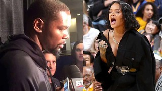 Kevin Durant Explains How Rihanna Changed Him - Video
