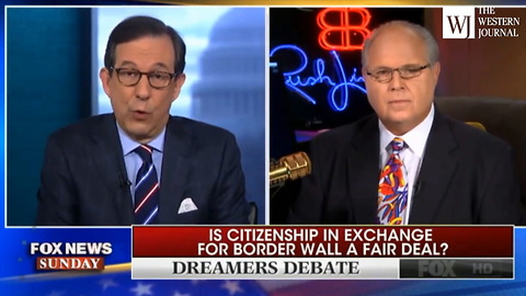 Rush Limbaugh Supports Amnesty for 'Whatever Number of Illegal Immigrants There Are in the Country'