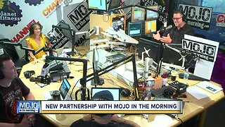 New partnership with Mojo in the Morning