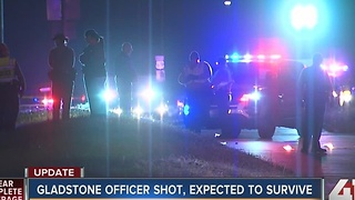 OVERNIGHT: Gladstone officer injured, 1 dead following traffic stop - Video