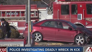 1 person dead, 3 injured in KCK wreck - Video