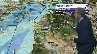 Weekend Cold Leads to Snow Next Week