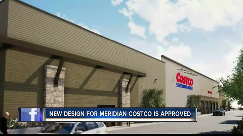 Costco design approved at Meridian City Council meeting