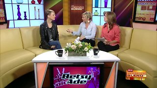"Chatting with Local ""Voice"" Contestant Betsy Ade"