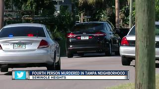 SWAT swarms Tampa neighborhood after fourth murder - Video
