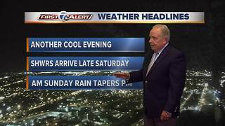Saturday 11pm First Alert forecast - Video
