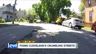 Fixing Cleveland's crumbling streets: The current list - Video