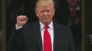 Presidential Inauguration 2017: Donald Trump arrives at Capitol - Video
