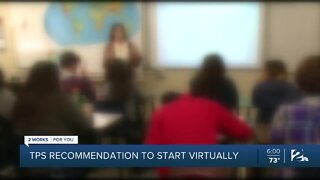 TPS recommends distance learning to start school year