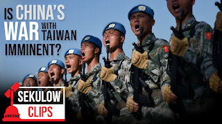 China Flexes Military Muscle on Taiwan - Will They Go To War?