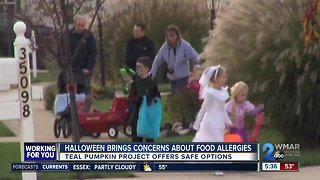 Halloween spooky for kids with food allergies