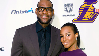 What Team Does LeBron James' Wife Want Him to Play for? - Video