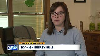 First Energy customer receives bill more than double usual cost, company says cold blast to blame - Video