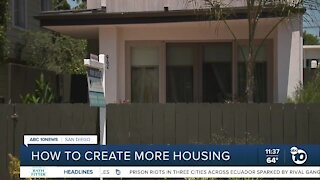 How to create more housing