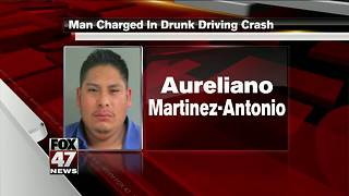 Jackson man charged in drunk driving crash - Video