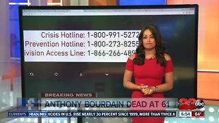 Anthony Bourdain Dies by suicide