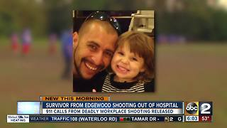 Edgewood shooting victim released from hospital - Video