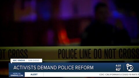 Local activists demand police reform
