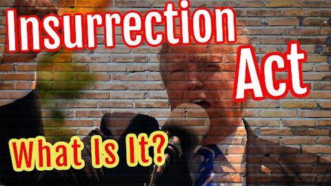 The Insurrection Act VS Martial Law. What is it?