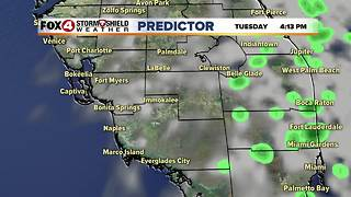 Few Showers Monday, Then Cooler, Comfortable Temps - Video
