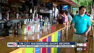 Tin City in Naples reopens a month after damage from Hurricane Irma - Video