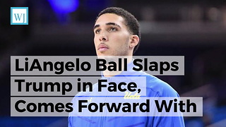 LiAngelo Ball Slaps Trump in Face, Comes Forward With Truth Behind His On-Camera Thank You - Video